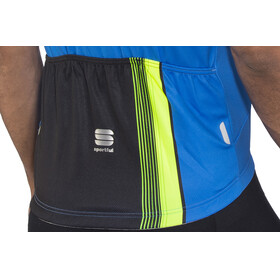 Sportful Bodyfit Pro Race Jersey Men electric blue/black/green fluo